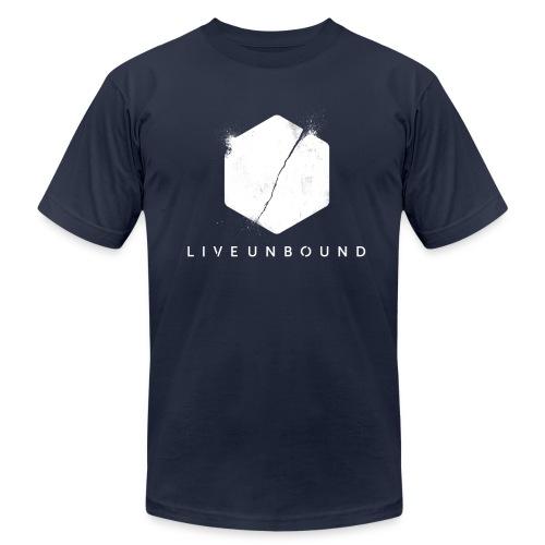 LiveUnbound Logo - Men's Fine Jersey T-Shirt