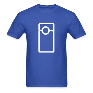 Vlogger - Transparent (Men's) - Men's T-Shirt