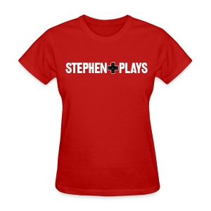 StephenPlays Logo - White (Women's) - Women's T-Shirt