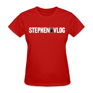 StephenVlog Logo - White (Women's) - Women's T-Shirt