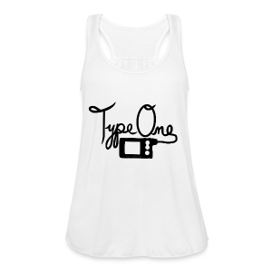 Type One - Pump Design 2 - Black - Women's Flowy Tank Top by Bella
