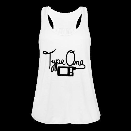 Type One - Pump Design 2 - Black - Women's Flowy Tank Top by Bella