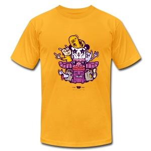 Funky Panda Totem Tee for Men - Men's Fine Jersey T-Shirt