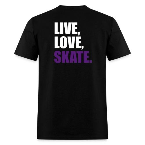 Live love skate DTRM - Men's T-Shirt