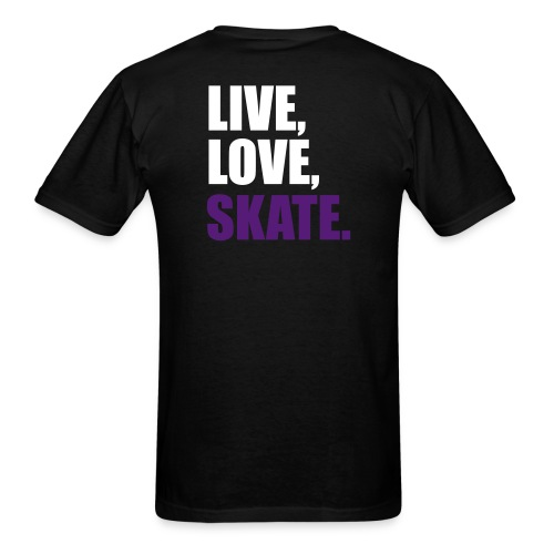 Live love skate DTRM - Men's T-Shirt