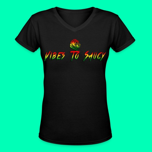 Women's Reggae Vibe Shirt  - Women's V-Neck T-Shirt