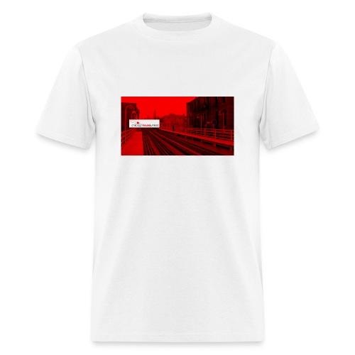 RED LINE  - Men's T-Shirt