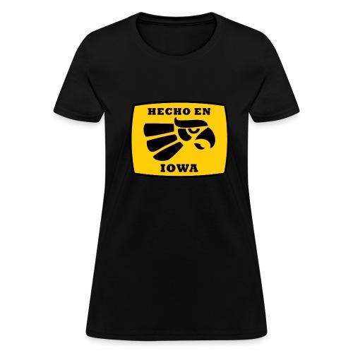 Hecho en Iowa Hawkeye T - Women's T-Shirt