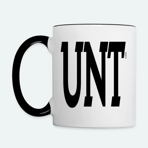 unt - Contrast Coffee Mug