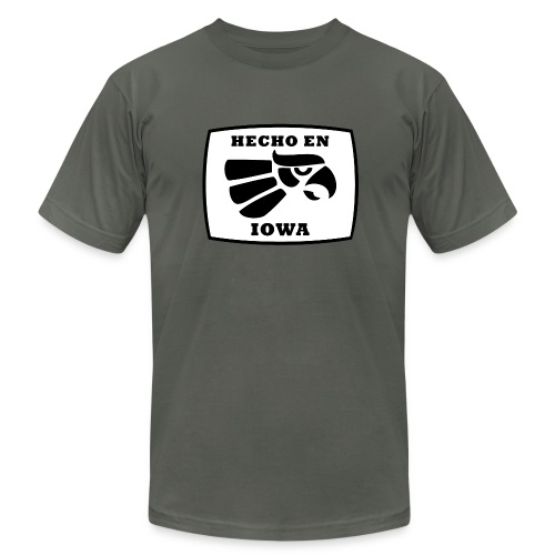 Hecho en Iowa - Men's Fine Jersey T-Shirt