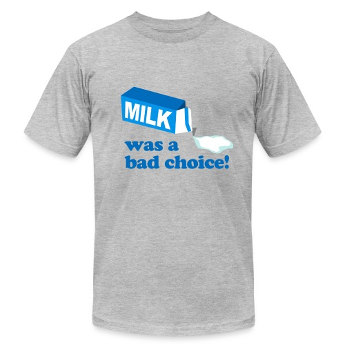 Milk Bad Choice Anchorman - Men's Fine Jersey T-Shirt