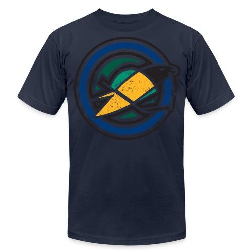 Retro California Golden Seals - Men's Fine Jersey T-Shirt