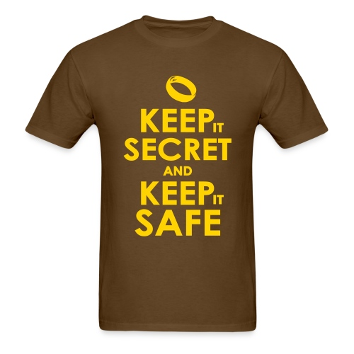 LOTR Keep Calm - Men's T-Shirt