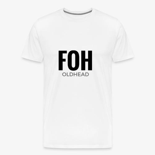 FOH Oldhead Premium Men's Tee - Men's Premium T-Shirt