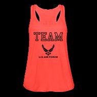 Tanks ~ Women's Flowy Tank Top by Bella ~ Team Ariforce Tank