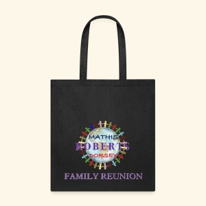 Tote bag with family reunion logo on one side - Tote Bag