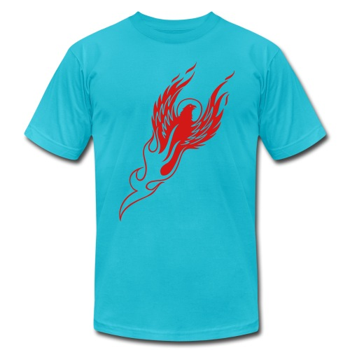 Rising Phoenix - Men's Fine Jersey T-Shirt