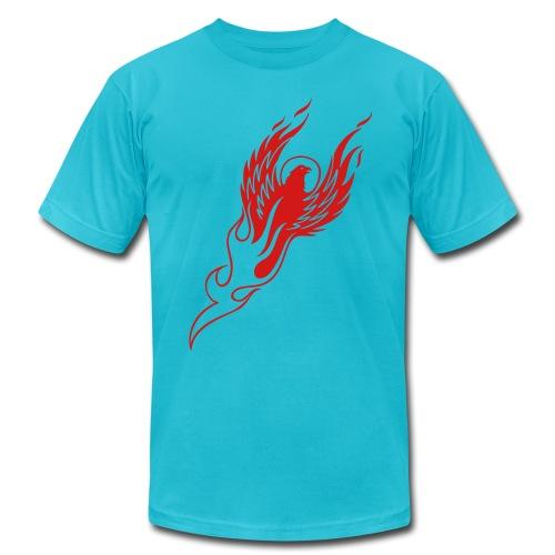 Rising Phoenix - Men's  Jersey T-Shirt
