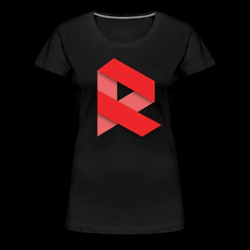 Revni-Women-T-Shirt (Black) - Women's Premium T-Shirt
