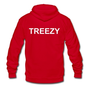 AT784 - Unisex Fleece Zip Hoodie by American Apparel