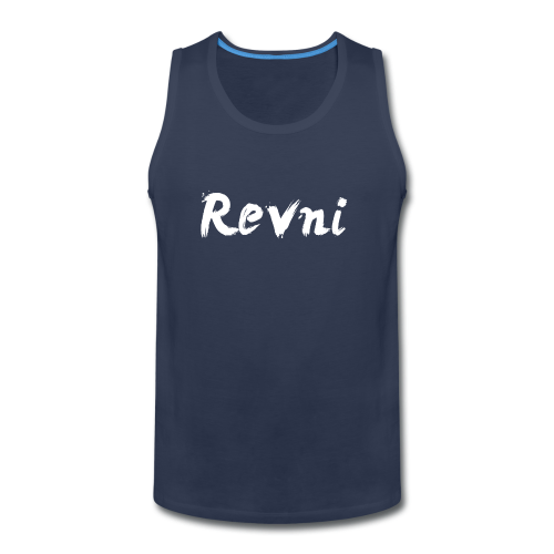 Revni Word-Men-Tank top - Men's Premium Tank