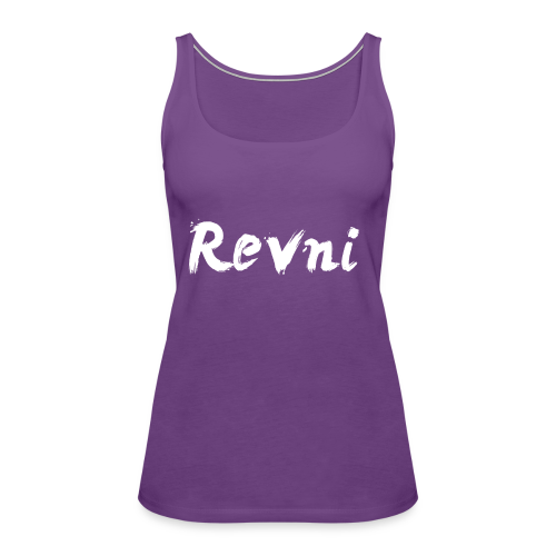 Revni Word-Women-Tank top - Women's Premium Tank Top