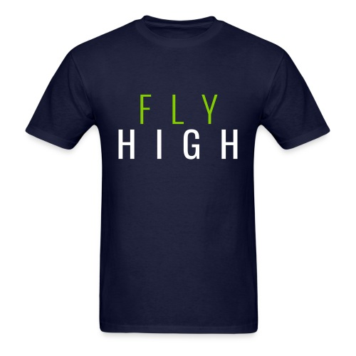 Fly High Tees - Men's T-Shirt