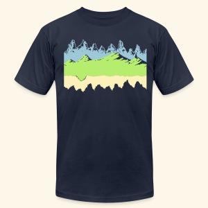 Moon - Men's Fine Jersey T-Shirt