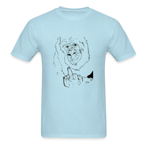 The Fuck Monkey - Men's T-Shirt