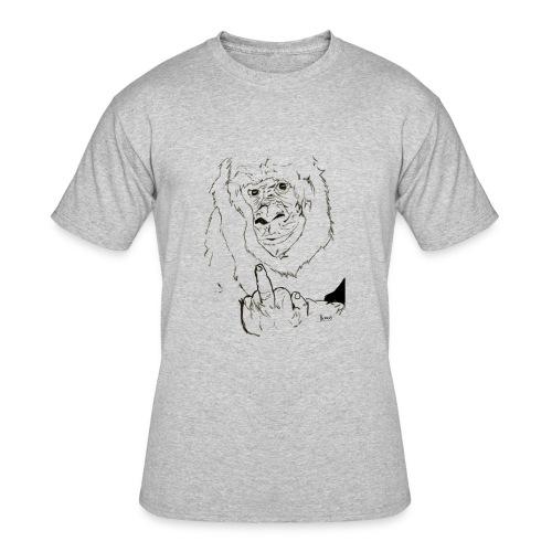 The Fuck Monkey - Men's 50/50 T-Shirt
