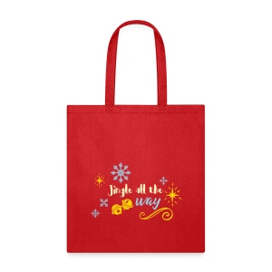 Jingle all the way - Tote Bag