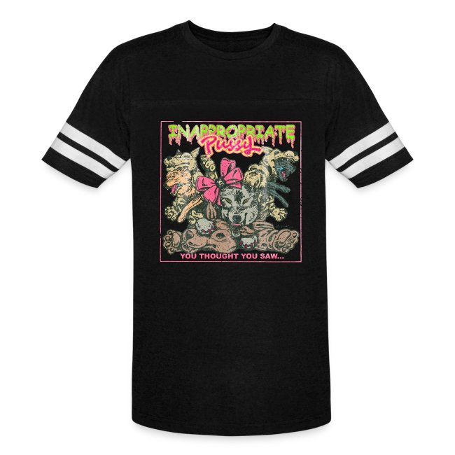 """Inappropriate Pussy """"Vintage"""" Tour T-shirt (Sport)"""