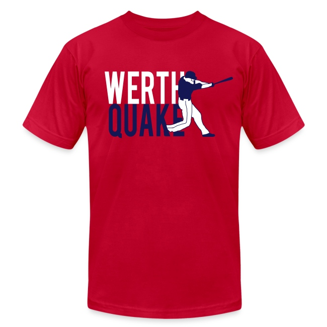 """Werthquake"" Tee - Red"