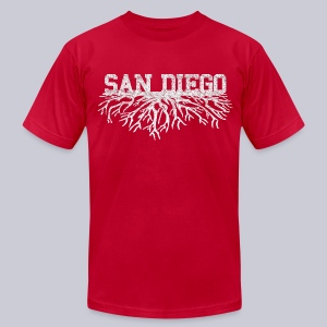 My San Diego Roots - Men's T-Shirt by American Apparel
