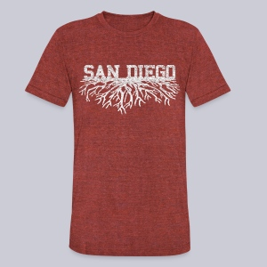 My San Diego Roots - Unisex Tri-Blend T-Shirt by American Apparel