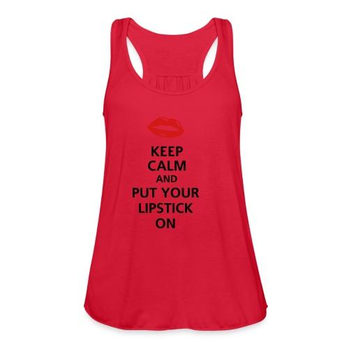 Women's Lip Shirt. - Women's Flowy Tank Top by Bella