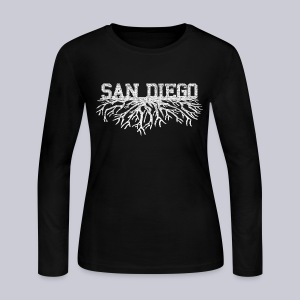 My San Diego Roots - Women's Long Sleeve Jersey T-Shirt