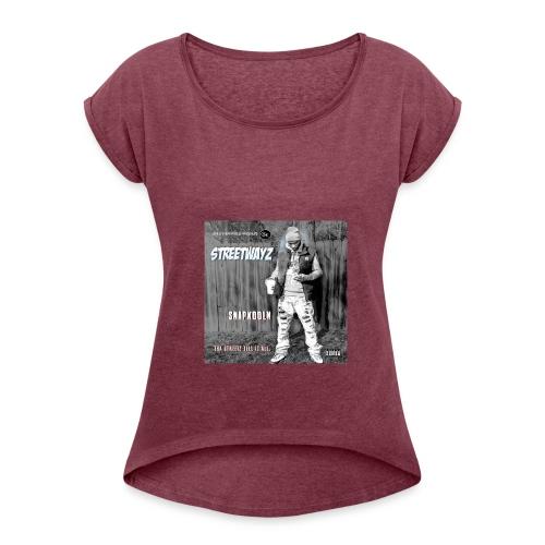 GTK WOMEN'S ROLL CUFF T-SHIRT - Women's Roll Cuff T-Shirt