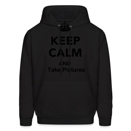 Keep Calm and Take Pictures - Men's Hoodie