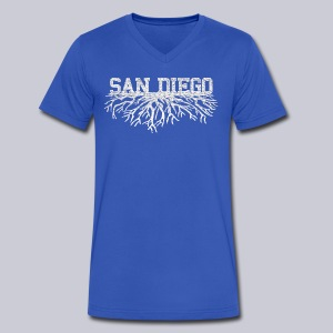 My San Diego Roots - Men's V-Neck T-Shirt by Canvas