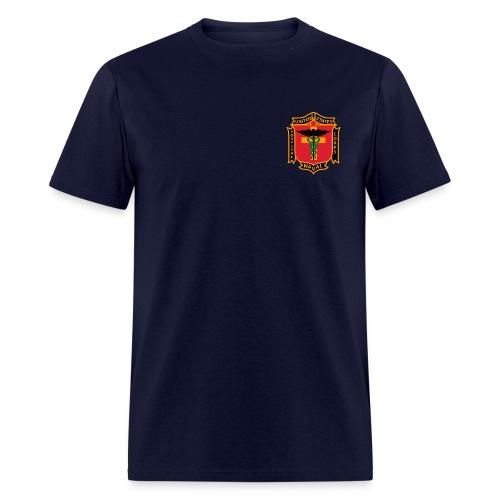 US Naval Hospital Corps - Retro Logo Shirt - Men's T-Shirt