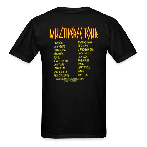 Rock Out Loud Multiverse Tour Shirt - Men's T-Shirt