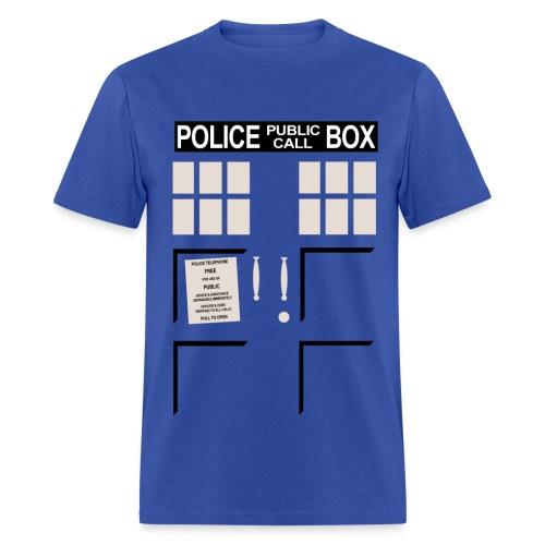 Tardis - Men's T-Shirt