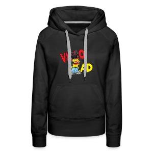 Womens Jacket-video head logo - Women's Premium Hoodie