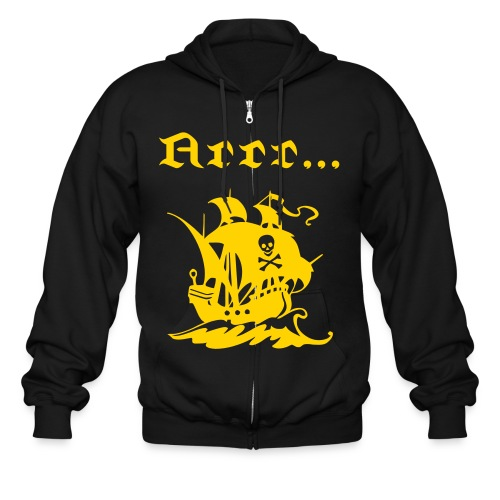 Men's Talk Like A Pirate Day - Men's Zip Hoodie
