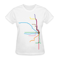 T-Shirts ~ Women's T-Shirt ~ Subway