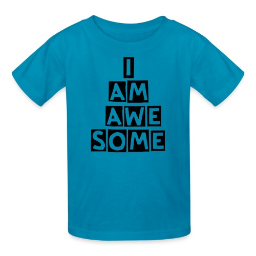 I am awesome tee - Kids' T-Shirt