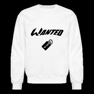 WANTED Tag Crewneck - Crewneck Sweatshirt