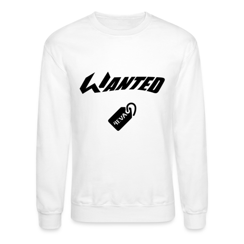 WANTED Tag Crewneck - Crewneck Sweatshirt