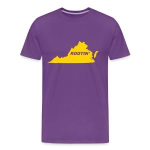 Rootin' Purple - Men's Premium T-Shirt